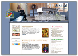 Arsacal.nl - website van Mgr. Hendriks
