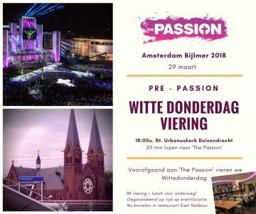 Pre-Passion Witte Donderdagviering